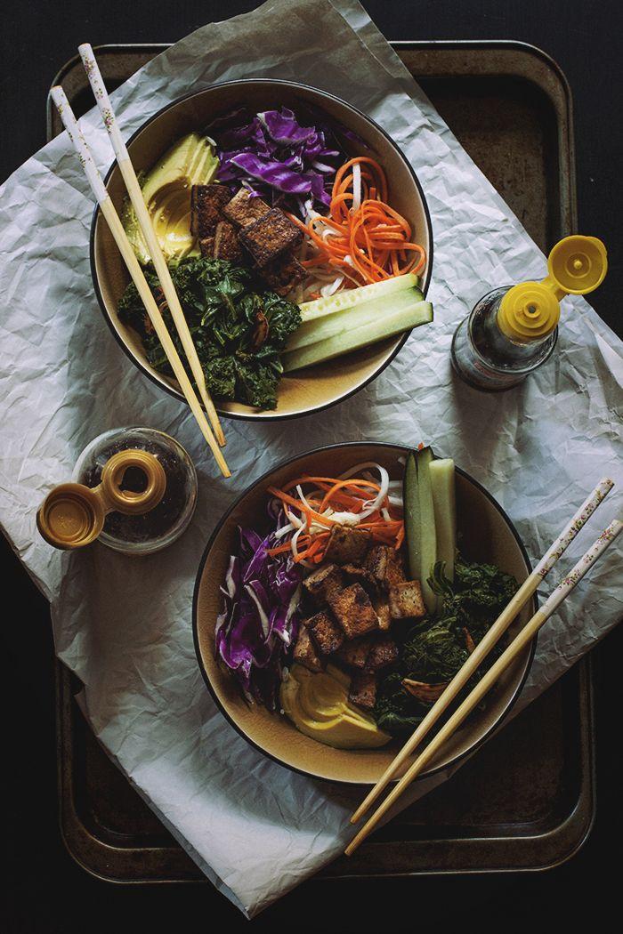 Vegan Bibimbap Bowls // The Pancake Princess