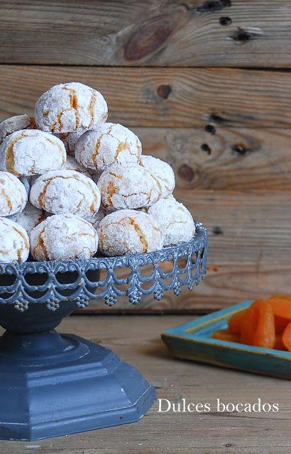 Apricot amaretti cookies, gluten free - Galletas amaretti de orejones {sin gluten}