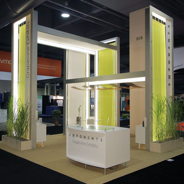 Exhibition Booth Materials : Exponents pavilions booths exhibits are all temporary