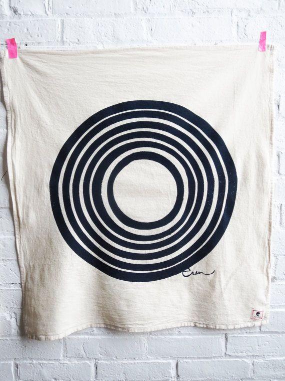 Tea Towel Sun: Printed Tea Towels, Towel Sun, Pattern, Circle