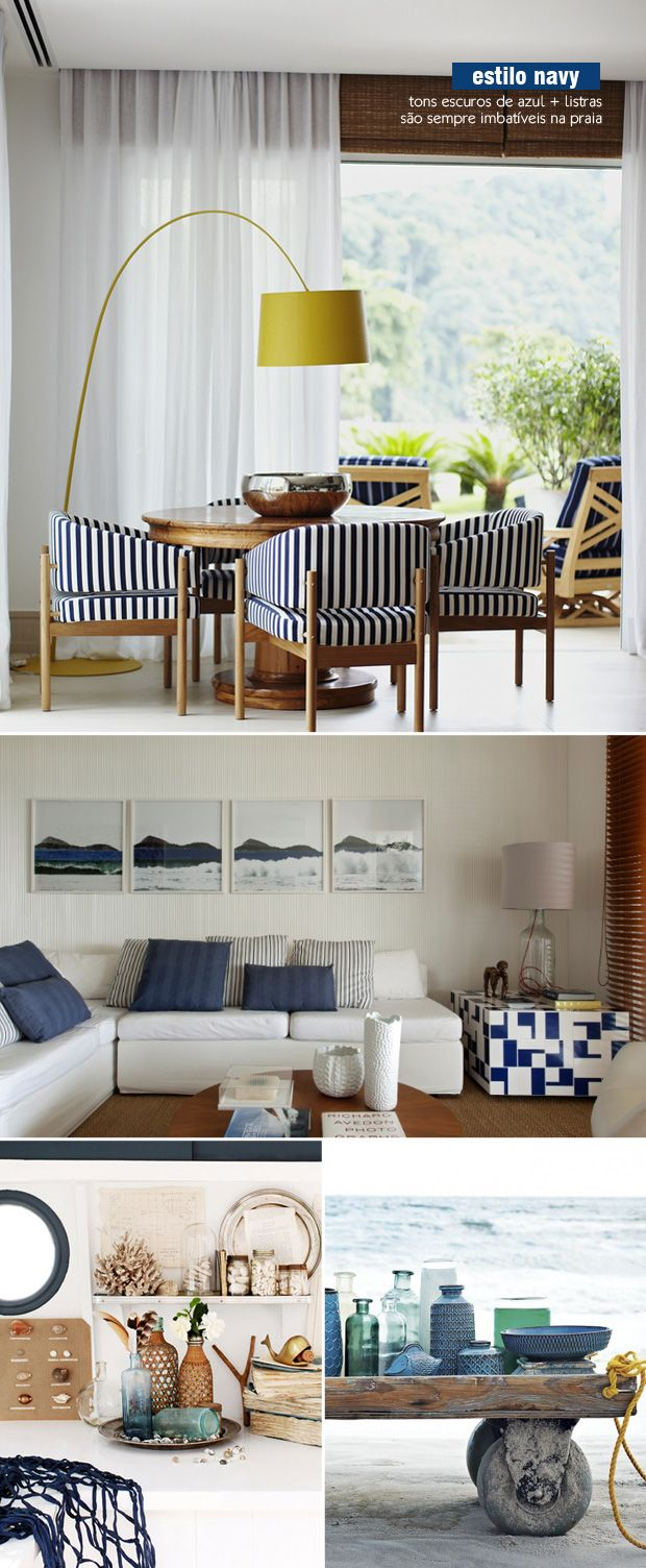 navy style | beach house decor #navy #beach #decor