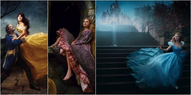 Vemale.com - Seorang fotografer terkenal, Annie Leibovitz menyelesaikan proyek uniknya dalam dunia fotografi yaitu membuat foto-foto para selebriti dunia dengan tema Disney.