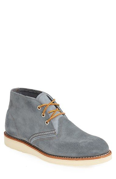 Free shipping and returns on Red Wing Suede Chukka Boot (Men) at Nordstrom.com. A cool wedge sole lifts a handsome, hearty chukka boot crafted from durable suede.