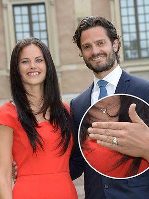 Verlobung in Schweden: Sofia Hellqvist und Prinz Carl Philip