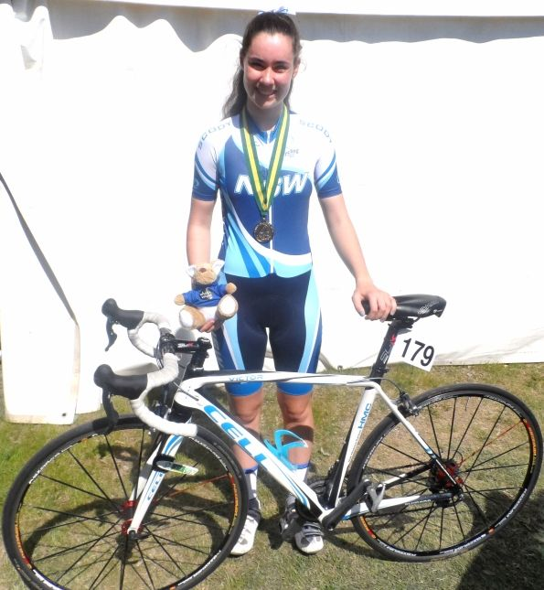 Congrats to Chloe Heffernan on WINNING a GOLD Medal in the Women's U15 30km Road Event at the recent Australian Junior Road Championships in Wagga Wagga.
