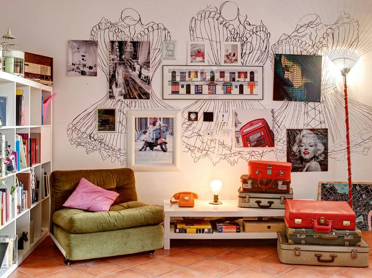A colorful pop apartment in central Milan by Nomade Architettura http://www.nomadearchitettura.com/#all