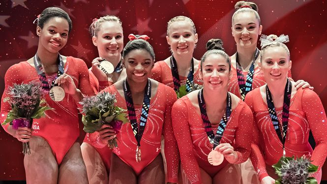 Witness the members of the 2012 and 2016 U.S. Olympic Gymnastics Teams at the 2016 Kellogg's Tour of Gymnastics Champions coming to American Airlines Center on Thursday, September 29, 2016. Click here for more info: http://www.americanairlinescenter.com/events/detail/gymnastics2016