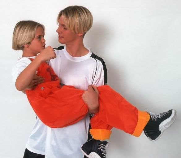 lil aaron and young nick carter