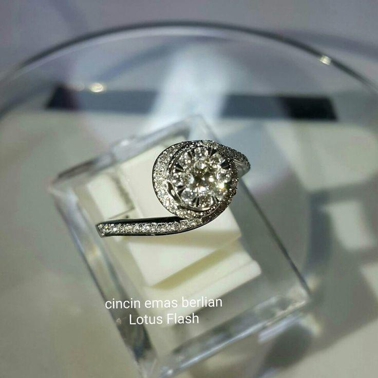 New Arrival🗼. Cincin Emas Berlian Lotus Flash💍.   🏪Toko Perhiasan Emas Berlian-Ammad 📲+6282113309088/5C50359F Cp.Antrika👩.  https://m.facebook.com/home.php #investasi#diomond#gold#beauty#fashion#elegant#musthave#tokoperhiasanemasberlian