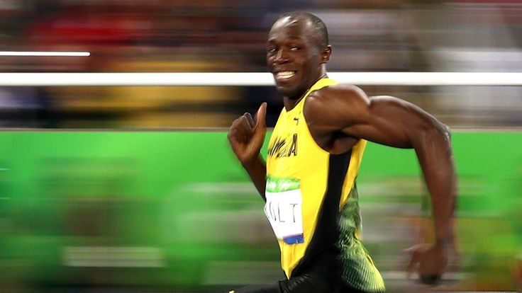 The power of US television may have led to Usain Bolt's slower than expected time in the men's 100m final.