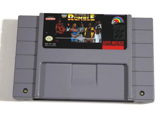 WWF Royal Rumble SNES Super Nintendo 1993 Retro by Retro8Games