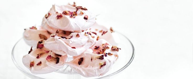 Rosewater Meringues recipe, brought to you by MiNDFOOD.