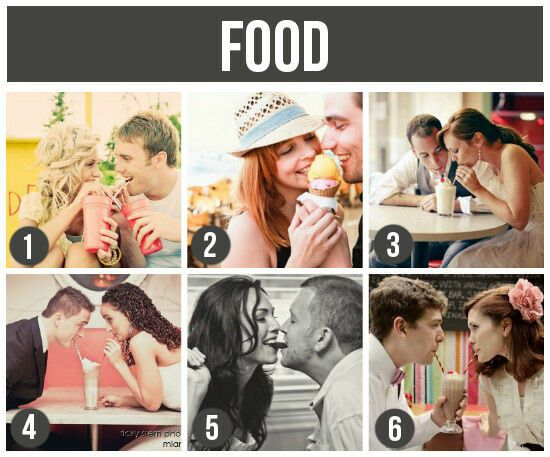 Prop Ideas For Couples: Food