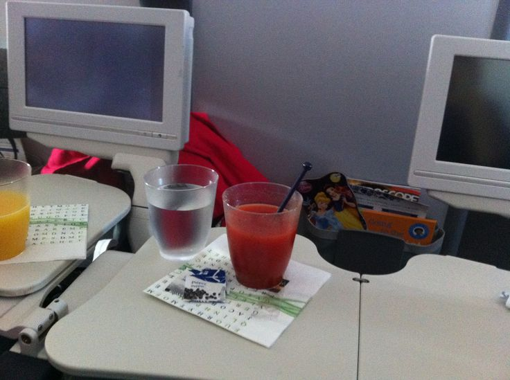 Polish Caesars at 2800 miles altitude.