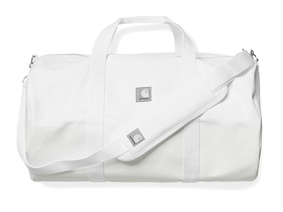 Slam Jam x Carhartt WIP Reflective Adams Duffle Bag - White