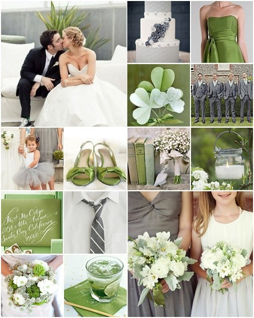 46 best Olive Green, Grey and White Wedding Inspiration images on ...