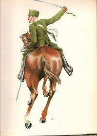 Regio Esercito - Tenente del Raggimento Cavalleggeri di Udine nel 1916
