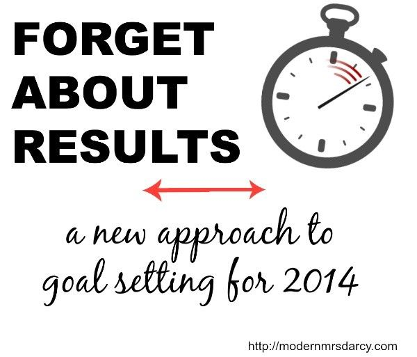 How to focus on the process, turn goals into games, and accomplish big things in 2014.