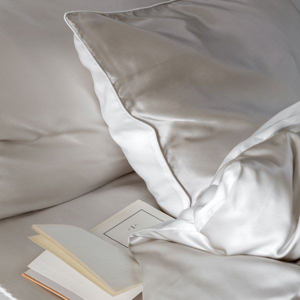 Luxury Reversible Silk Bed Linen                                                                                                                                                                                 More