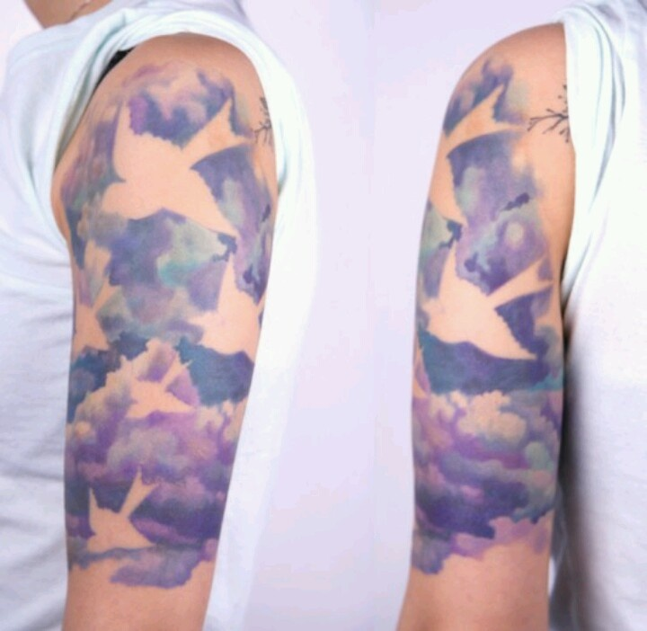 background clouds tattoo ideas pinterest beautiful