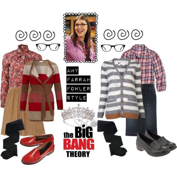 Amy Farrah Fowler- halloween costume ideas