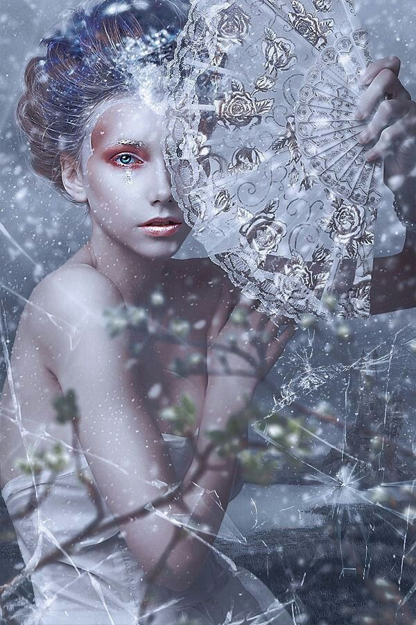 Modern Fairytale fashion fantasy / karen cox. ♔ once upon a time. Snow queen.