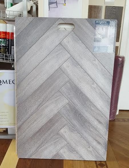 Authentic Herringbone Laminate Flooring. What Do You Think?