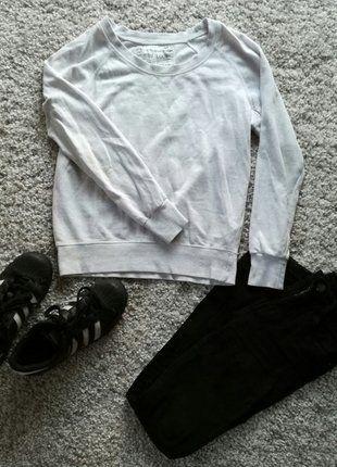 Kup mój przedmiot na #vintedpl http://www.vinted.pl/damska-odziez/bluzy/16121052-bialo-szary-sweterek