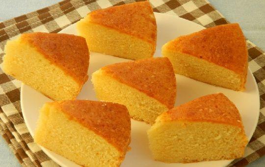 Torta basica de vainilla