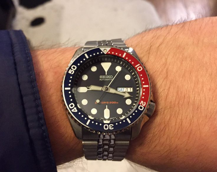 [Seiko SKX009] Got my first automatic today. I think Im in love. http://ift.tt/2zQzZxs