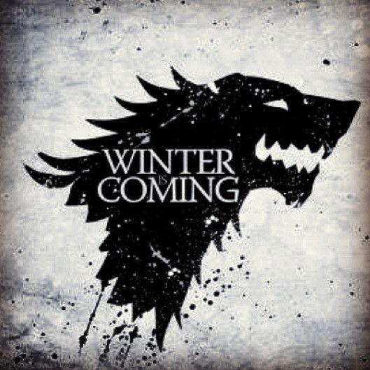 Winter is coming #Stark #juegodetronos #gameoftthrones #wargo #lobo #wolf #emblema #winterfell #invernalia #HBO #serie #poniente #norte #North   Juego de Tronos