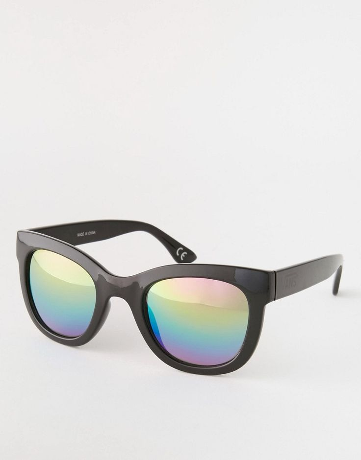 Vans Catch Ya Later Rainbow Mirror Sunglasses