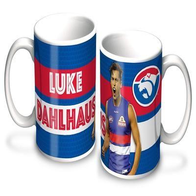 Luke Dahlhaus Coffee Mug $14.95 Western Bulldogs