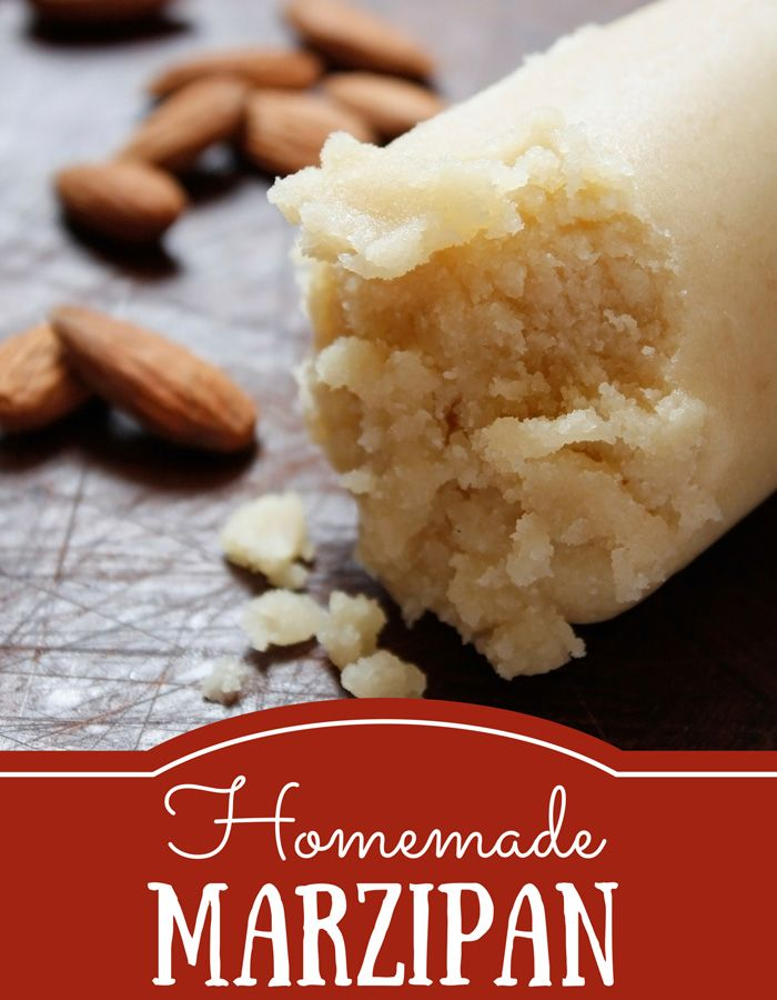 Learn how to make homemade marzipan using only a few ingredients and a food processor. Paleo, gluten free, egg free, dairy free, free of refined sugar.