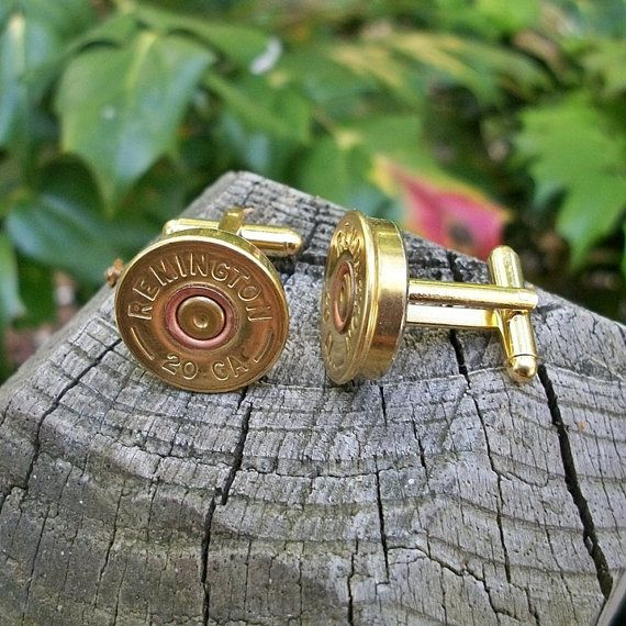 groomsmen gifts? shotgun shell cufflinks