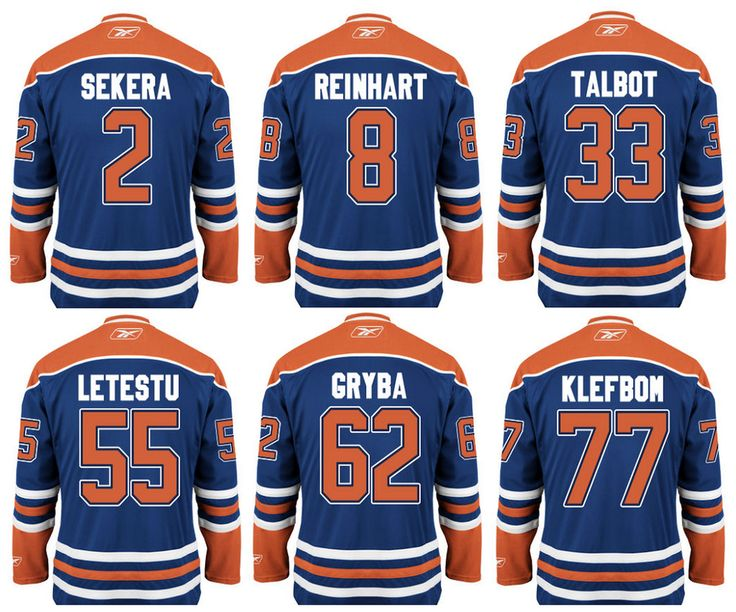 Jersey numbers for new players
