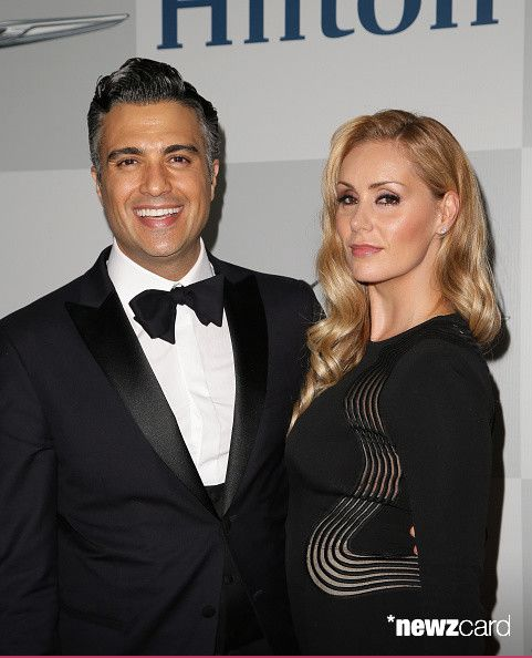 Actor Jaime Camil (L) and Heidi Balvanera attend the NBCUniversal 2015 Golden Globe Awards Party sponsored by Chrysler at The Beverly Hilton Hotel on January 11, 2015 in Beverly Hills, California.  (Photo by Chelsea Lauren/Getty Images for Chrysler)