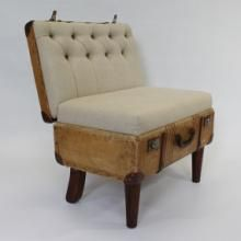 Suitcase Chair Stronglite from Recreate. DesignSnaps is where South Africa shares home building and decorating inspiration, solutions and contacts.