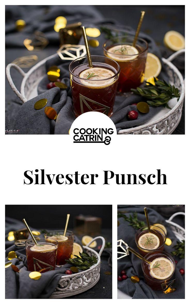 silvester, new years eve, party, drink, punsch, cocktail, getränk, glogg, minze, zitrone, granatapfel, mint, lemon, pommegranate