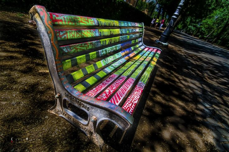 """Photo """"Bench"""" by CarloMarrasPhotography"""