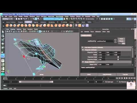 A.S| Maya Tutorial for Beginners 2016| 33 - UV Mapping  Part 1