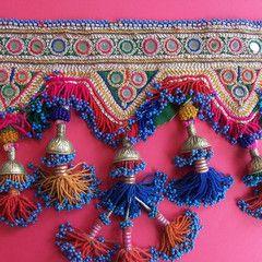 Pushtan small decorative Toran (doorway decoration) - late 20th c