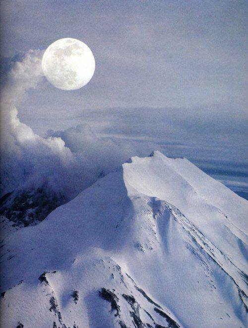 Across a White Land, the Moon Shines...