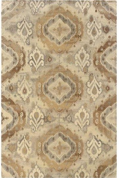 Beautiful Beige Hand Tufted Rug TTP-531