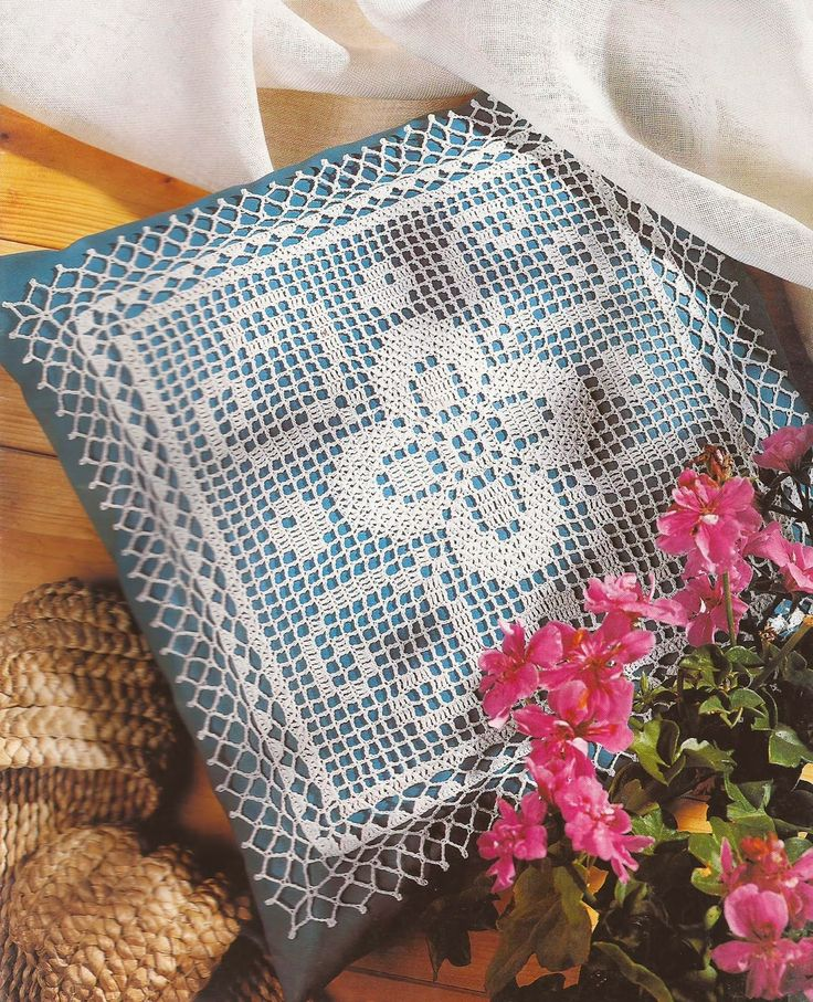 38 best images about cojines a crochet on pinterest for Cojines a crochet