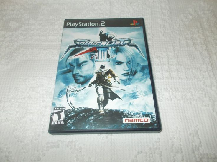 Soul Calibur III 3 Sony Playstation 2 PS2 Game Complete