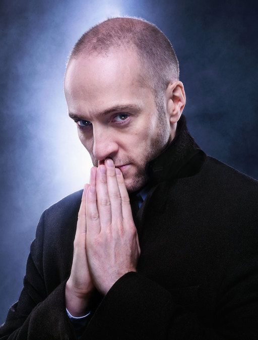 I've always admired him, but since I saw him in Derren Brown: Miracle (which is baffling, glorious, and moving), I'm in awe of him. *nods enthusiastically*