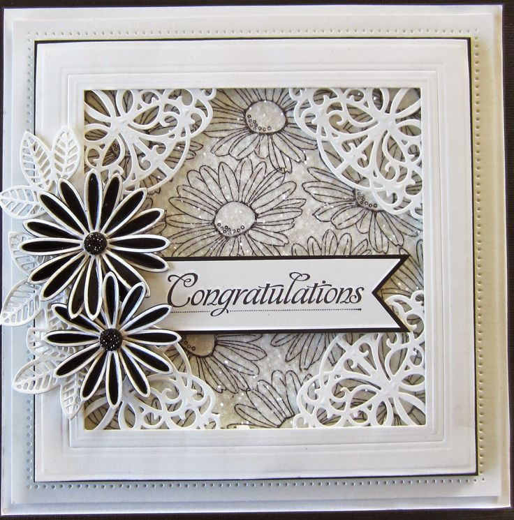 PartiCraft (Participate In Craft): Need to try this with Stacy's daisies stamp and some other corner dies!