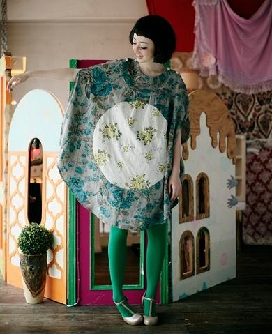 doll house set and dress
