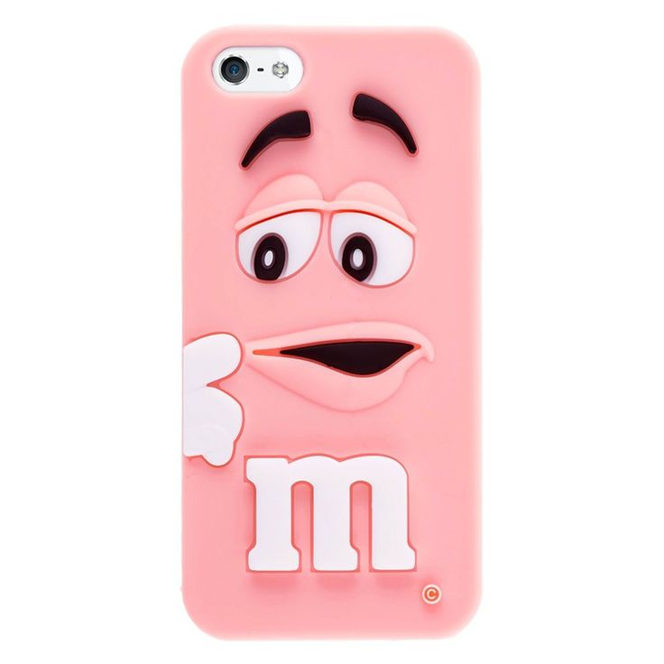 Silikonový kryt M&M pro iPhone 5/5s růžový #case #kryt #iphone